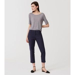 LOFT The Riviera Pant Marisa Fit In Navy Blue